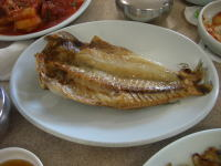 済州の焼き魚