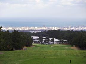 済州市街地と海が広がるおすすめコース