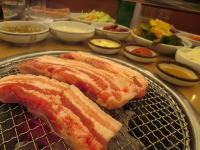 済州島グルメ 黒豚料理