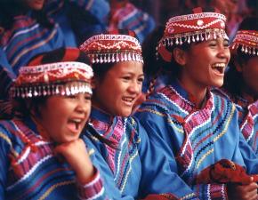 台東先住民族の子供たち