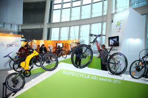 自転車見本市展示ブース
