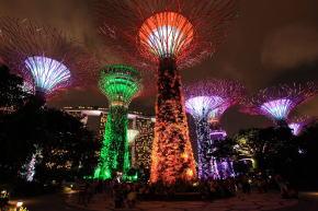 シンガポール ガーデンバイザベイ